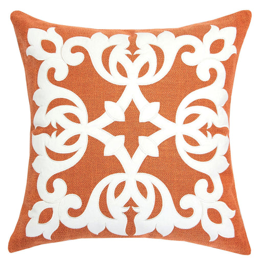 "Trudy Orange 20"" X 20"" Pillow, Spice image"