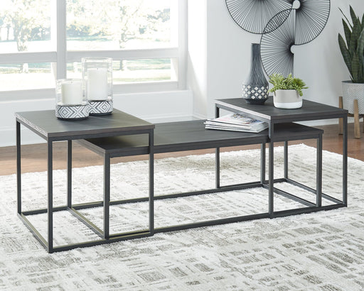 Yarlow Signature Design by Ashley Occasional Table Set 3CN image