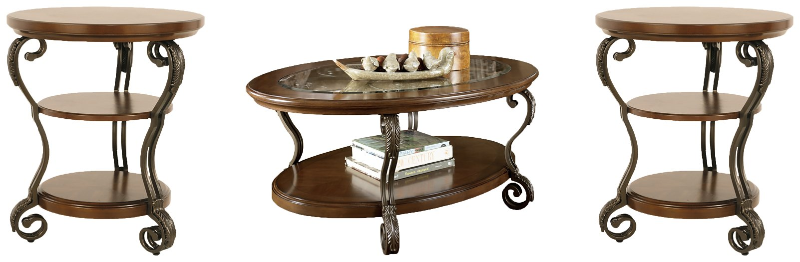 Nestor Signature Design 3-Piece Occasional Table Set image