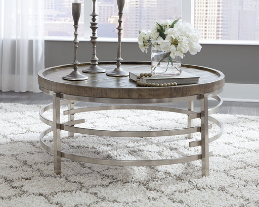 Zinelli Signature Design by Ashley Cocktail Table image