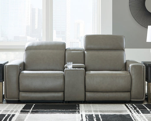 Correze Signature Design by Ashley 3-Piece Power Reclining Sectional image