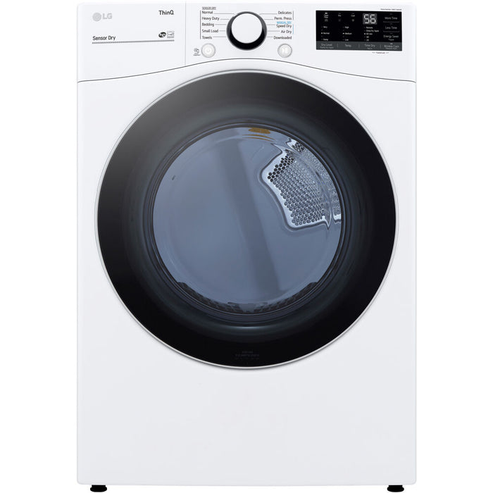 LG 7.4 CF Ultra Large Capacity Electric Dryer w/ Sensor Dry and Wi-Fi