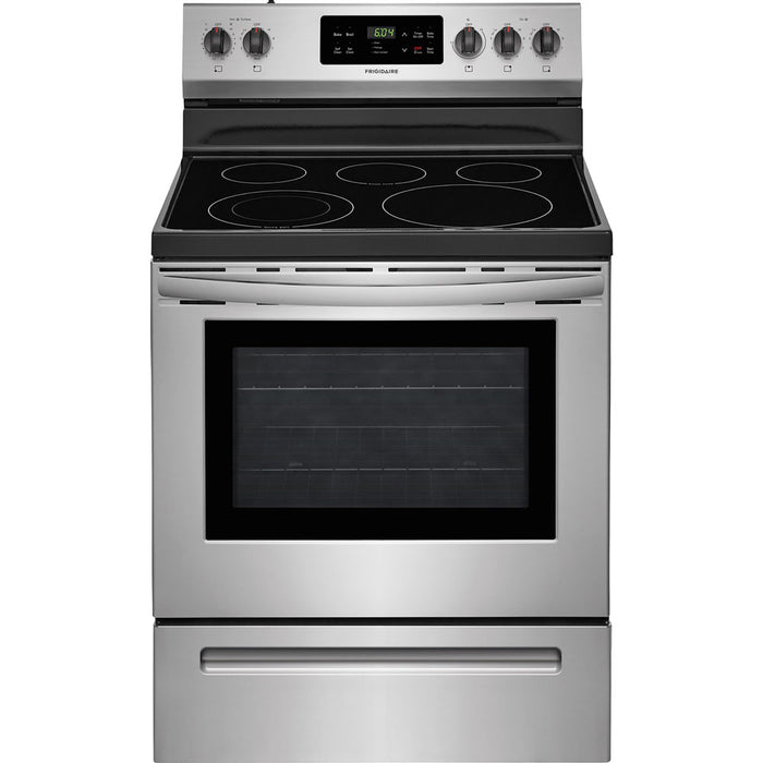 "Frigidaire 30"" Electric Smooth Top Freestanding Range Self Clean"