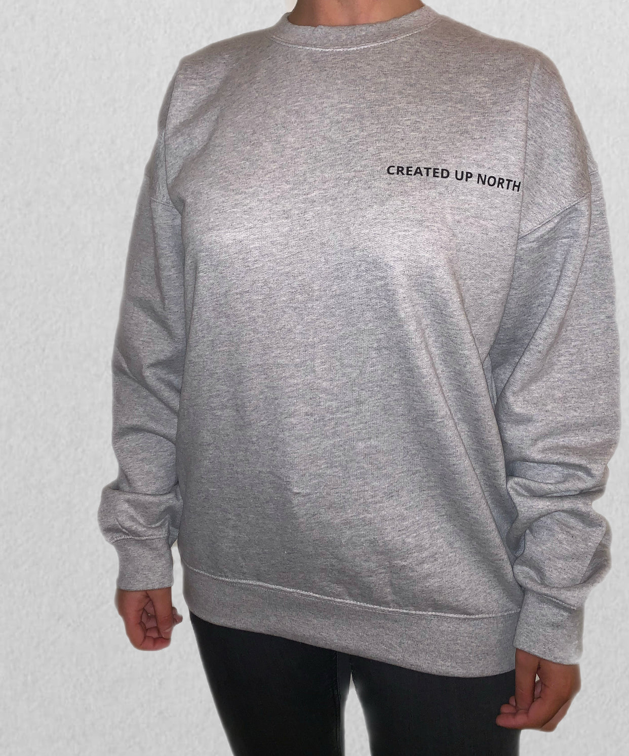 Womens Grey Sweatshirt