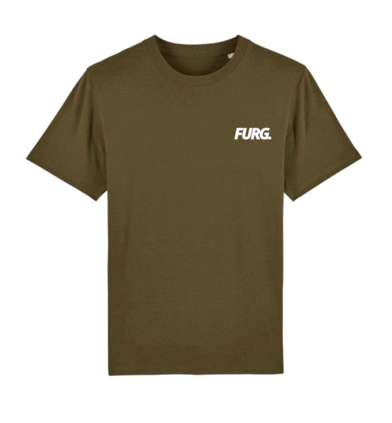 Created up North khaki T-shirt