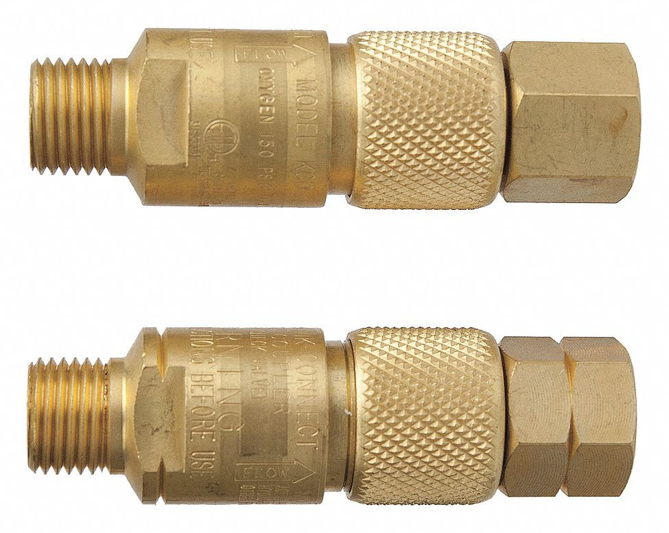 VICTOR 06560000 - Hose Quick Connect Brass 9/16in-18 PK2
