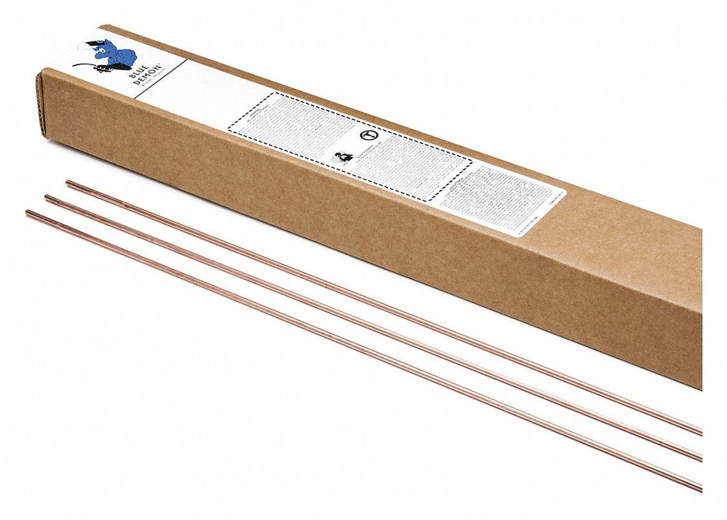 BLUE DEMON RG4509410T - Oxy-Acetylene Gas Weld Rod 3/32X36 10lb