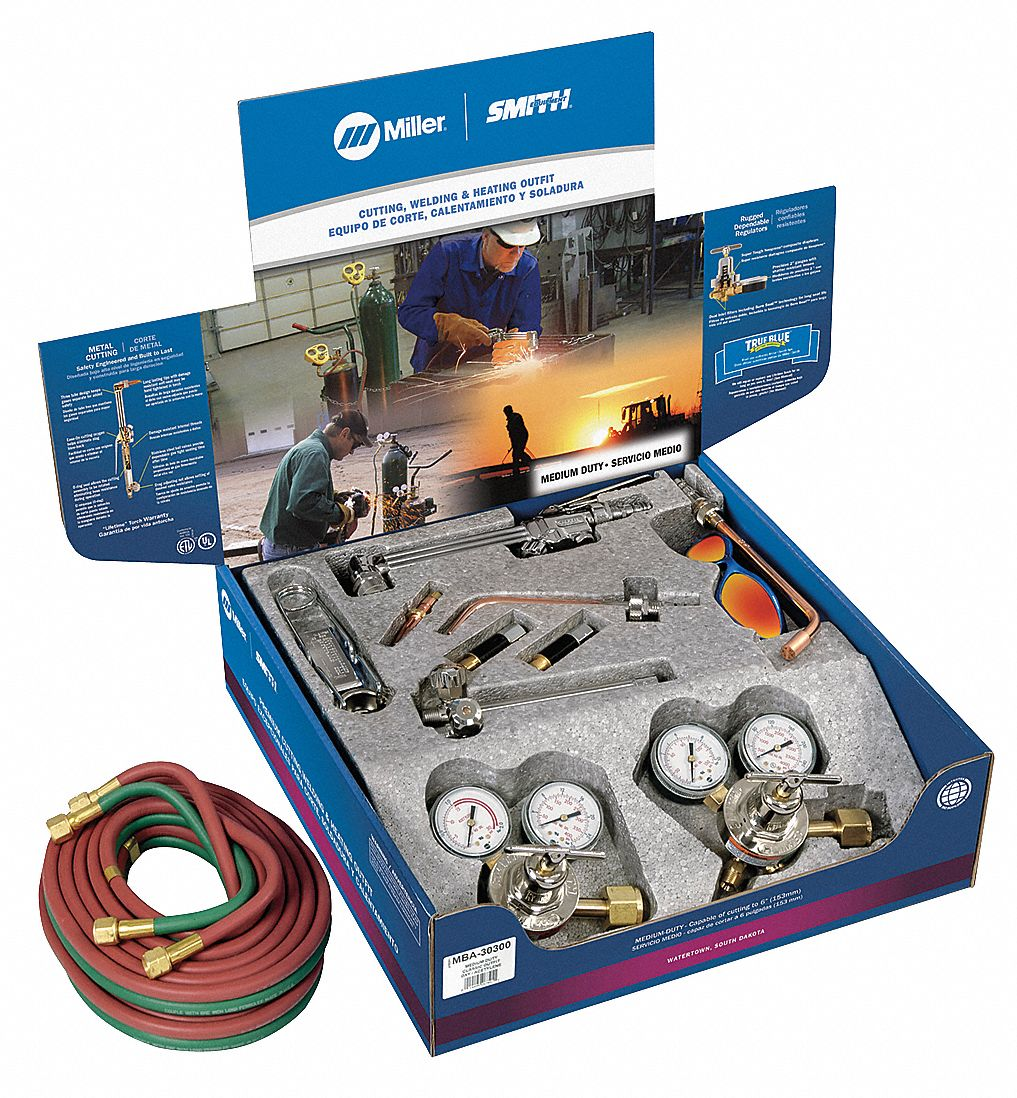 MILLER ELECTRIC MBA30300 - Medium Duty Toolbox Outfit Acetylene