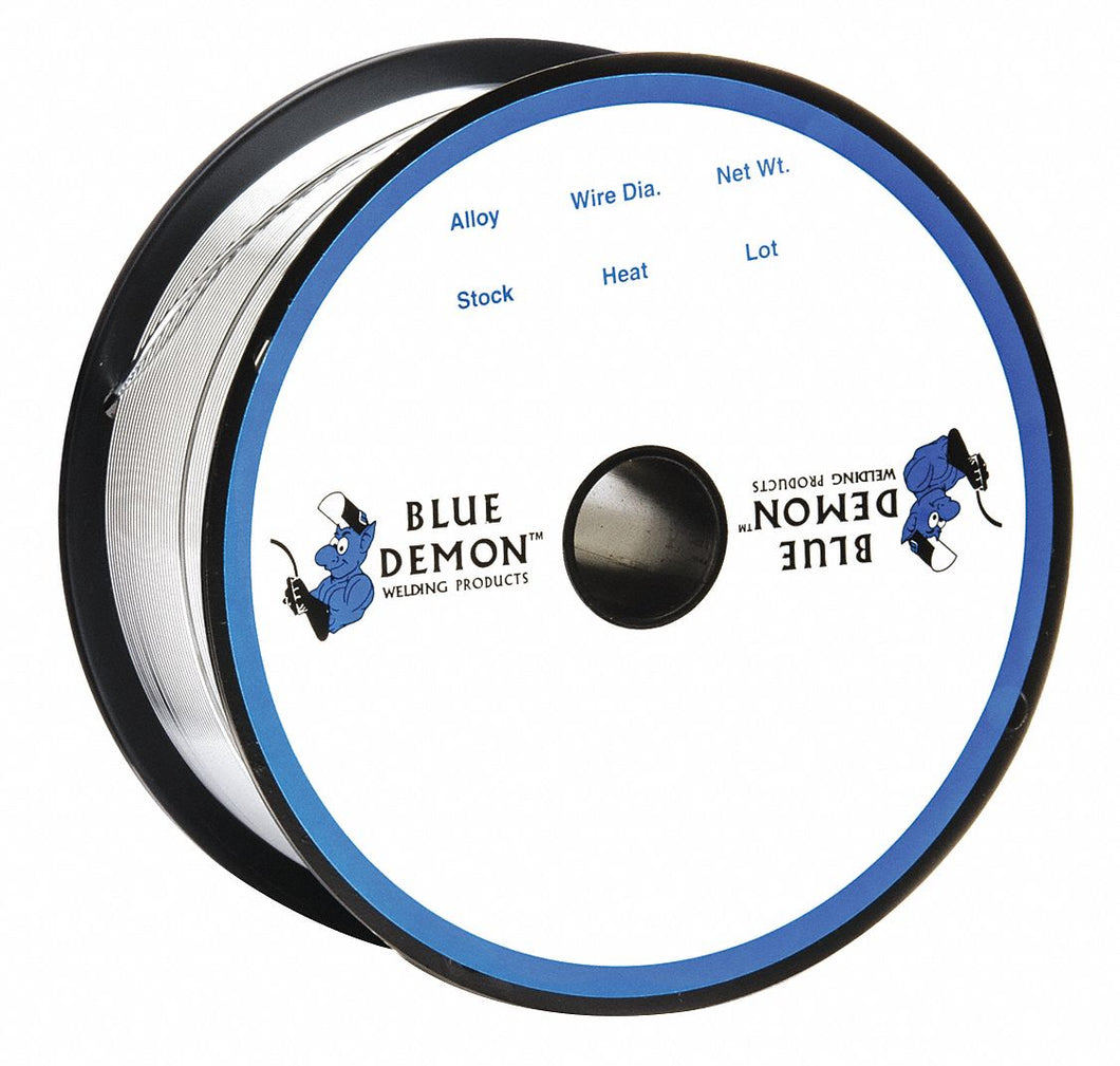 BLUE DEMON ER404303501 - Aluminum Weld Wire 0.035 1lb. Spool