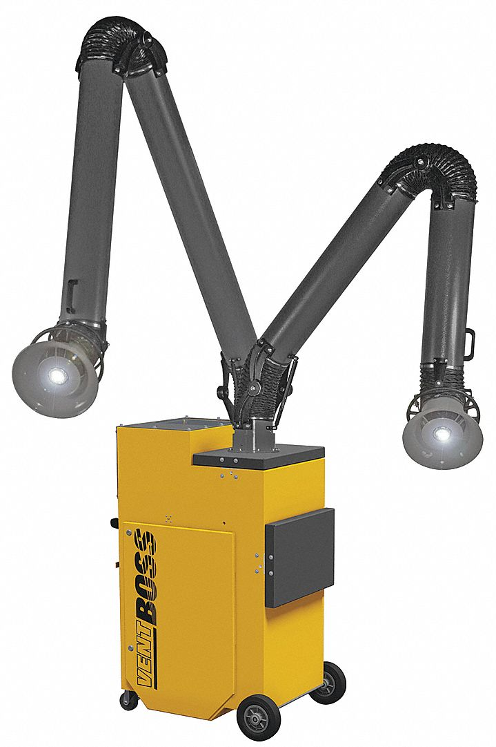 VENTBOSS BY ROBOVENT G121 - Fume Extractor Series 100 Nanofibre