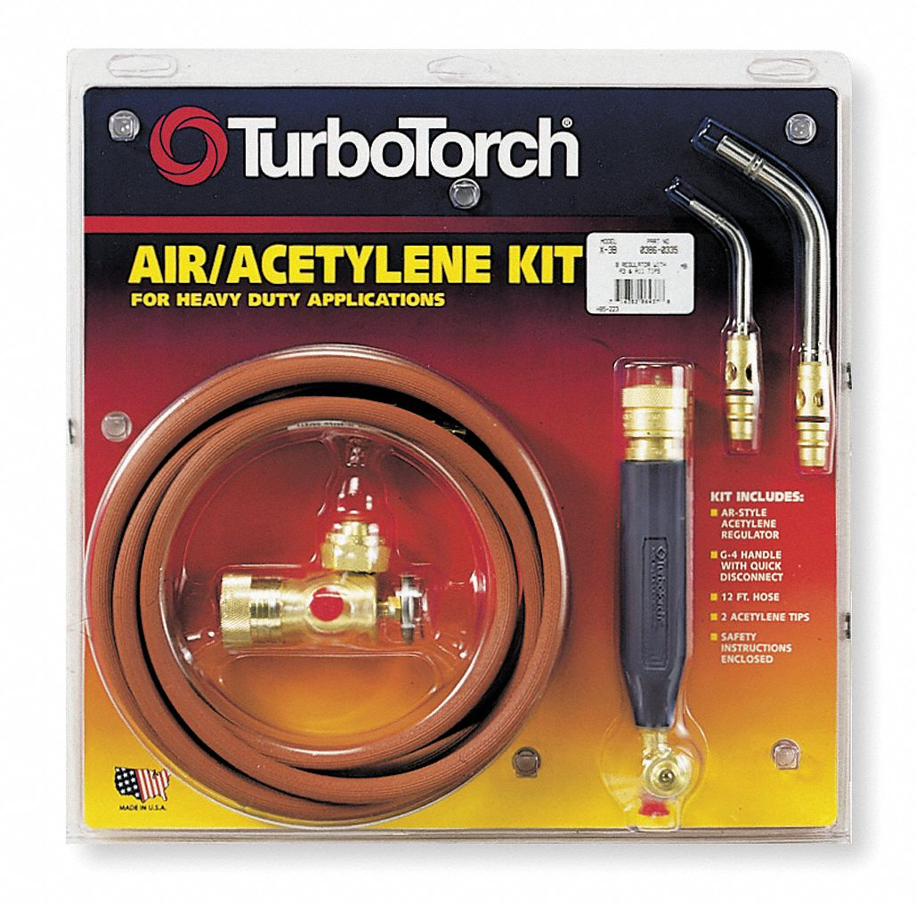 TURBOTORCH 03860335 - Air/Acetylene Kit