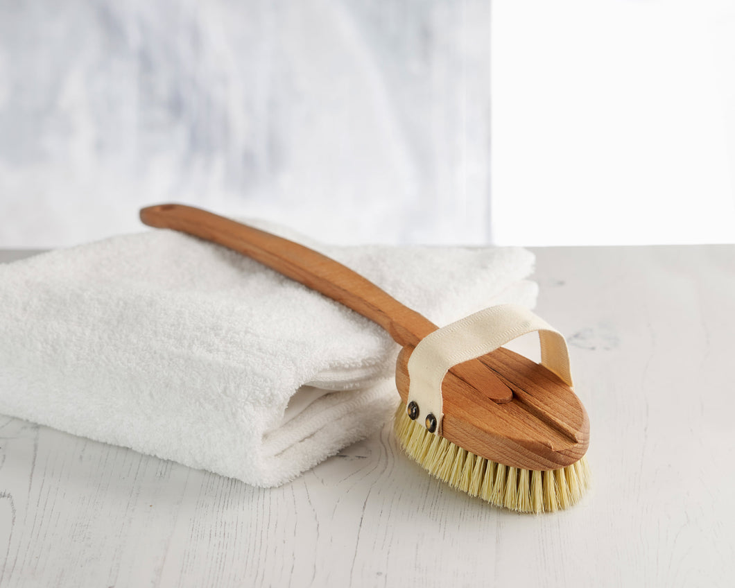 Wooden Bath Brush with a Replacement Head (FSC 100%)