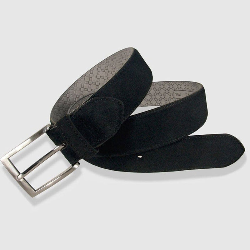 Leyva - Black Suede Belt