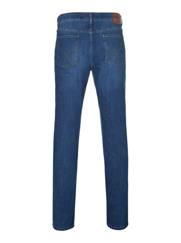 Brax - Cooper Masterpiece Denim Jean - Stone Washed Blue
