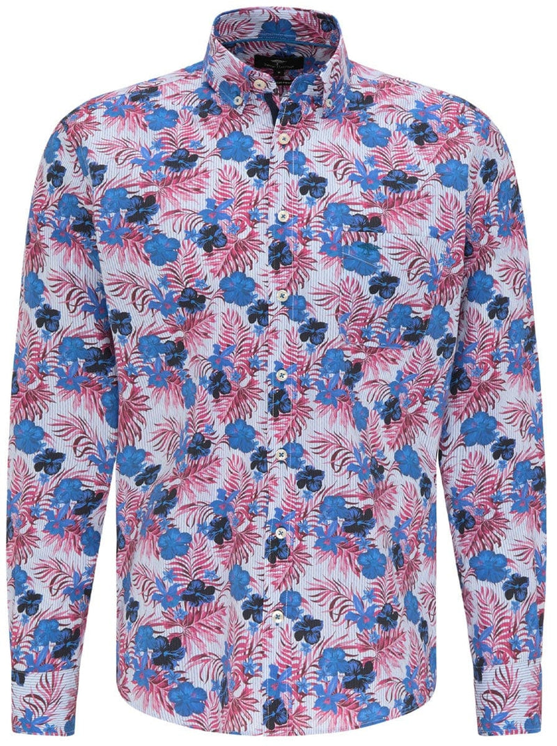 Fynch Hatton - Casual Fit Floral Print Shirt
