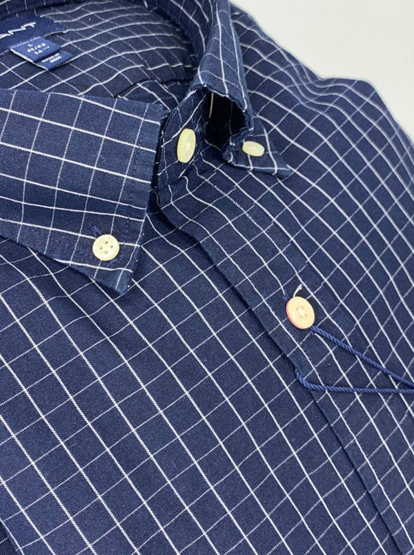 GANT - Tattershall Shirt - Dark Indigo