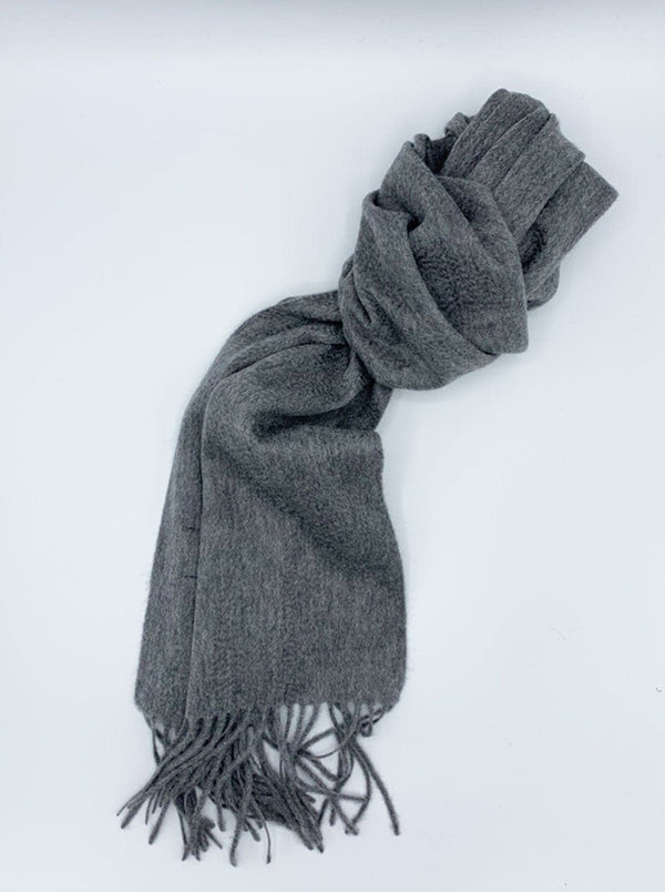 Ascot - Cashmere Scarf - Grey