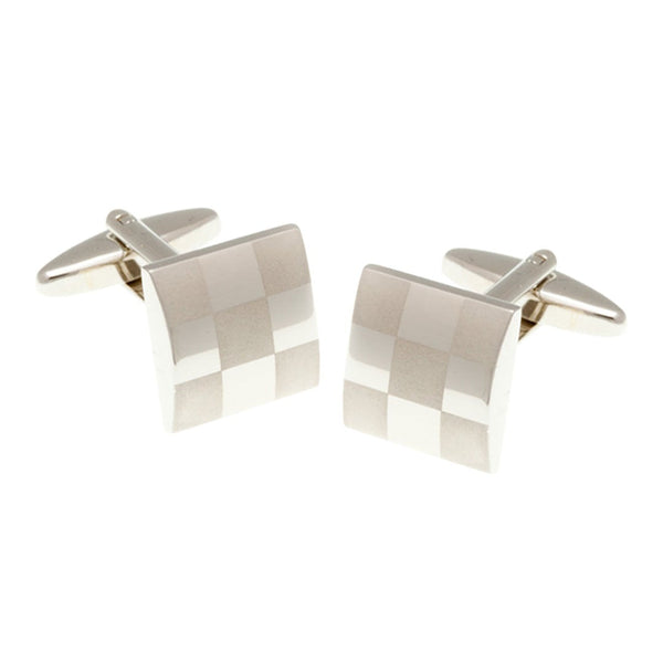 Elizabeth Parker - Chess Board Cufflinks