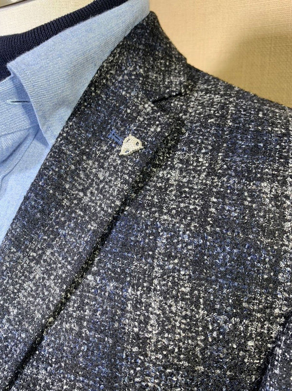 Roy Robson - Regular Fit Wool Mix Check Jacket