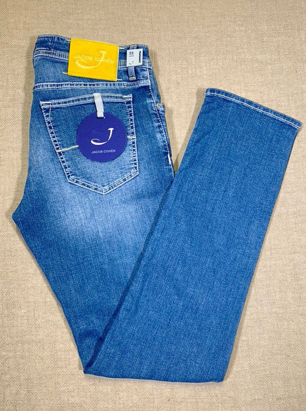 Jacob Cohën - Light Wash Denim Jean *End of Line*