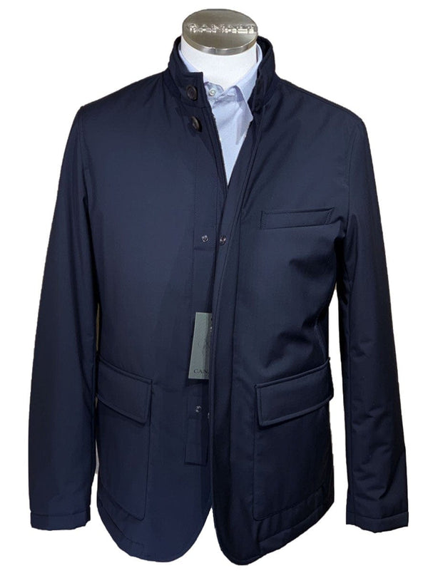 Canali - Rain & Wind Tech Wool Car Coat