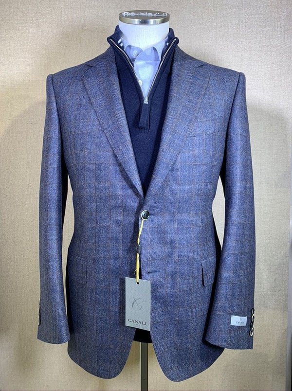 Canali - Wool Glen Check Jacket