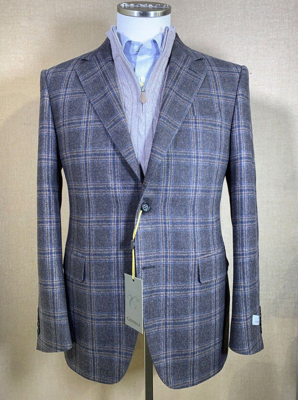 Canali - Wool/Cashmere Check Jacket