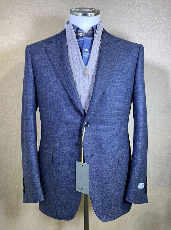Canali - Wool Textured Weave Jacket