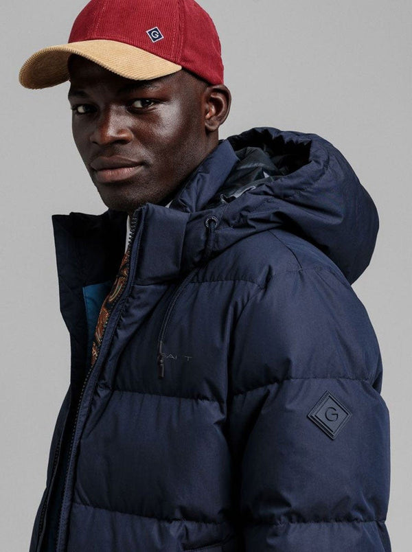 GANT - Alta Down Jacket - Colour Navy
