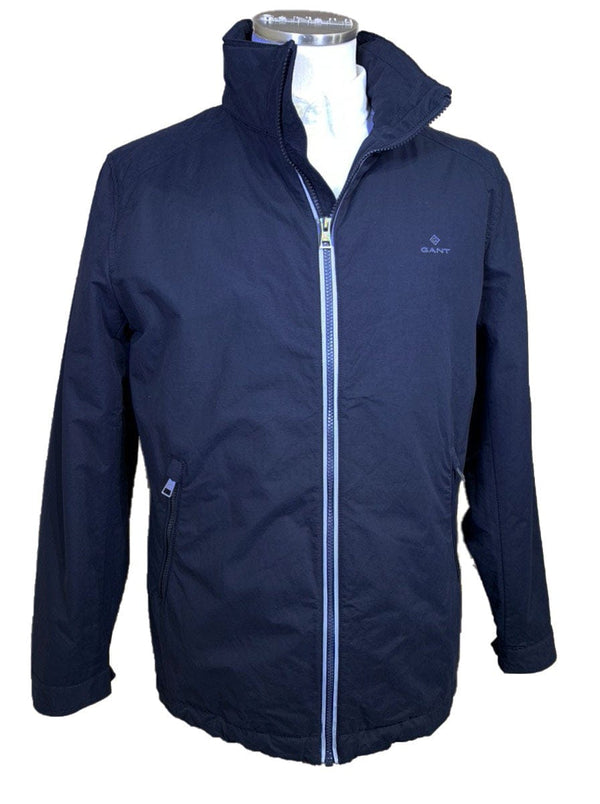 GANT - The Costal Mid Length Coat - Colour Evening Blue