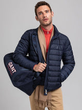 GANT - Light Down Jacket - Colour Evening Blue