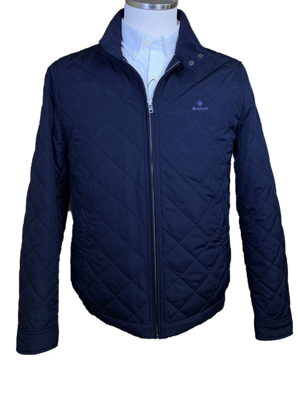 GANT - Quilted Windcheater - Colour Evening Blue