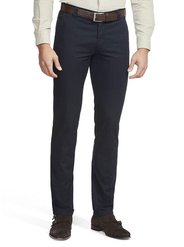 Meyer - Bonn - Cotton Chino - Navy