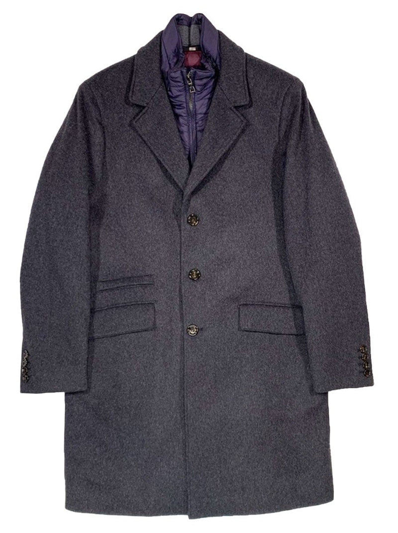 Schneiders - Wool Mix Overcoat - Anthracite