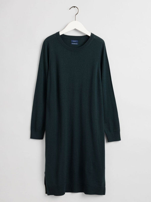 Gant - Gant Merano Wool Dress - Colour Tartan Green
