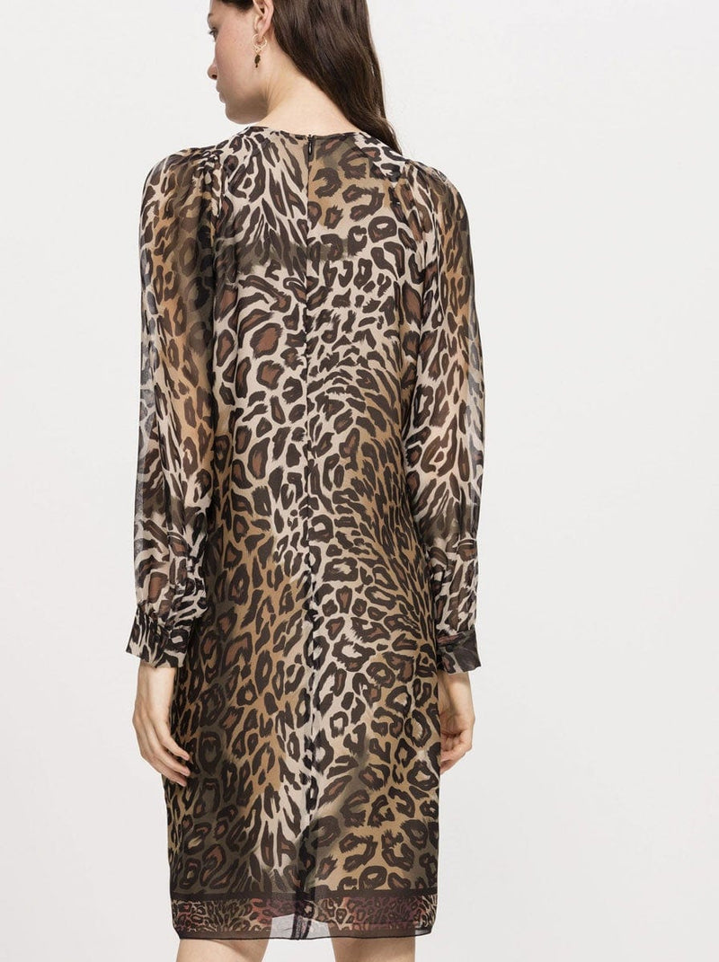 Luisa Cerano - Animal Print Dress