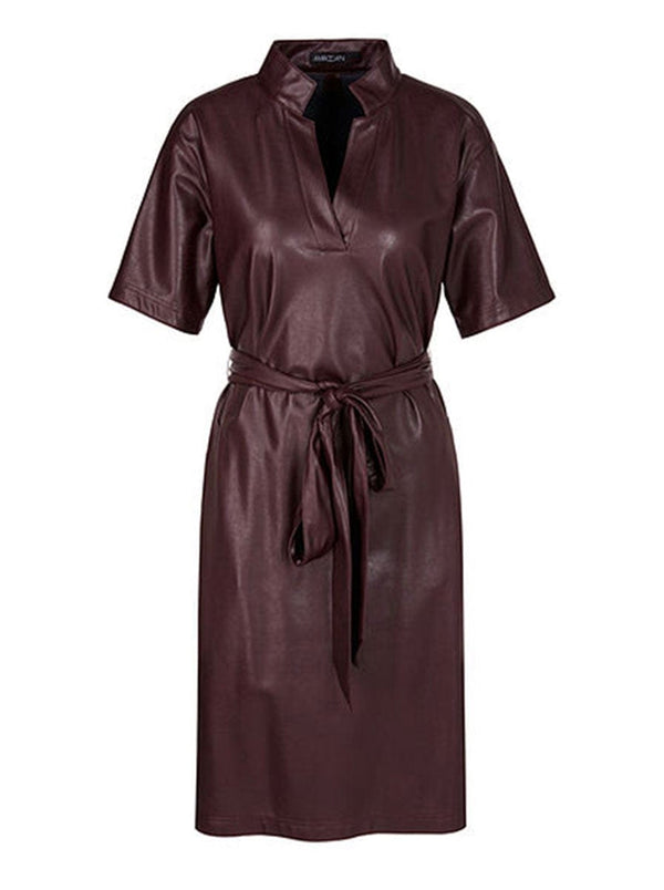Marc-Cain - Dress in vegan leather