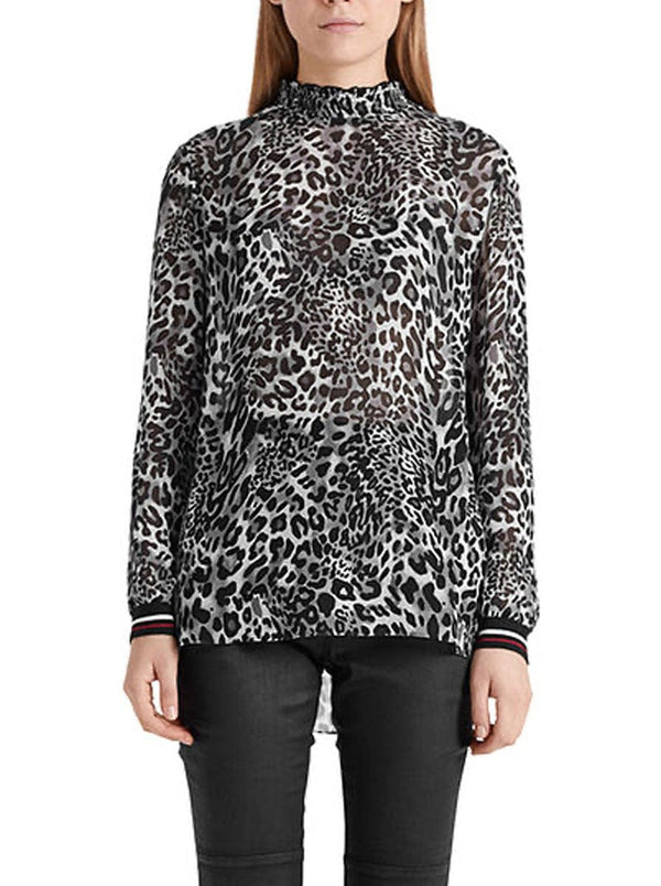 Marc-Cain Sport - Animal Print Blouse
