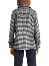 Marc-Cain - Gingham Check Short Jacket