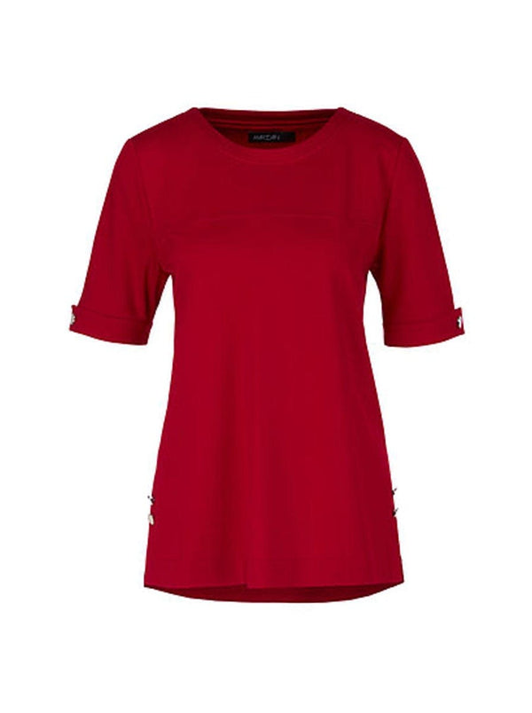 Marc-Cain - Red T-Shirt