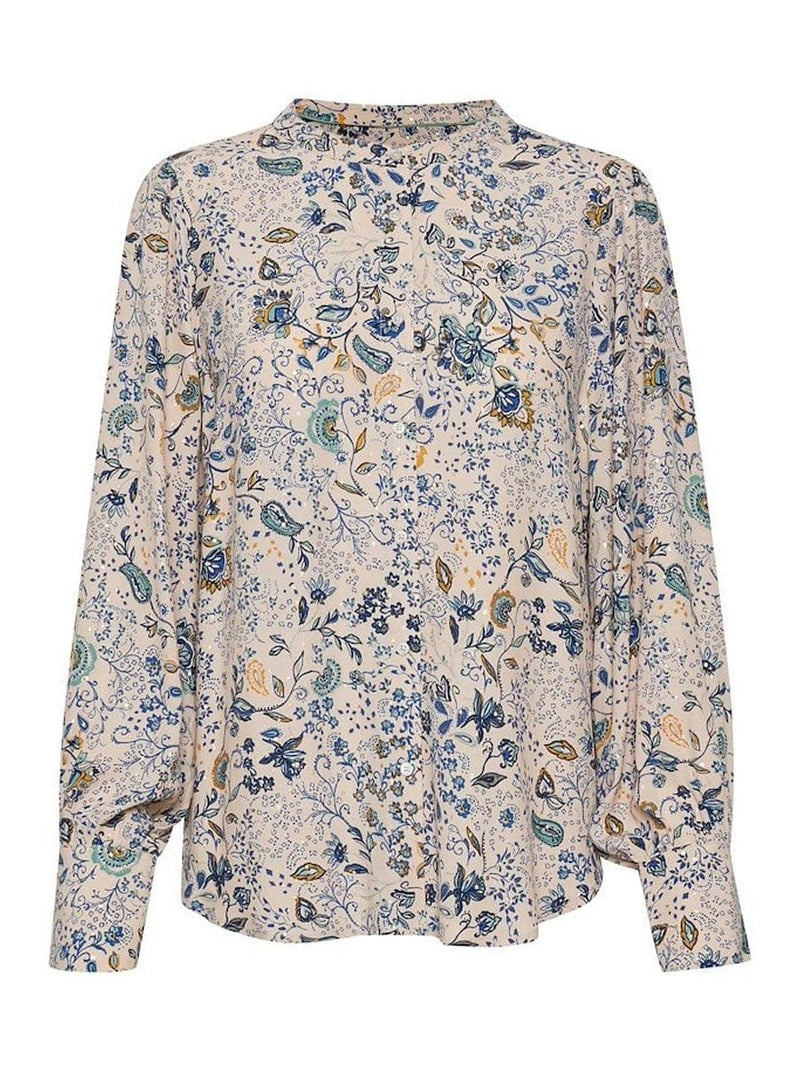 Part Two - Paisley Print Blouse
