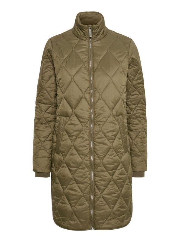 Part Two - Down Coat - Colour Green