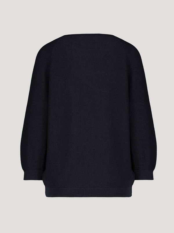 Monari - Knitted jumper with text detail