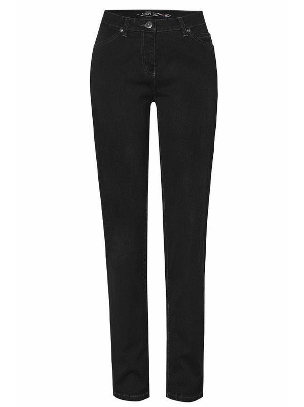 Toni - Perfect Shape - Slim Fit - Black Denim Jean