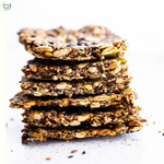Load image into Gallery viewer, 3) Seed Patakha x 4 units ​  Fibre & protein rich 7 seed crackers​  Flourless, gluten free, vegan & full of fibre. ​  It can't get healthier than this :)