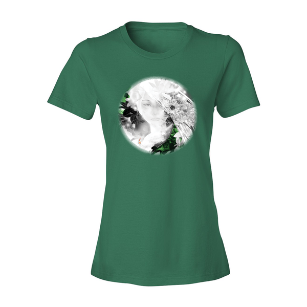 Jade Circle Fashion Fit Crew Neck Tee