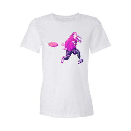 Bubble Tea Mud Run Fashion Fit Crew Neck Tee (Women's)