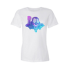 Mega Superstar Fashion Fit Crew Neck Tee (Women's)