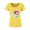 Snacks N Tea Sheer Scoop Neck (Women's)