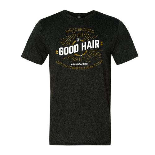 Certified Good Hair Crew Neck Tee (Men's)